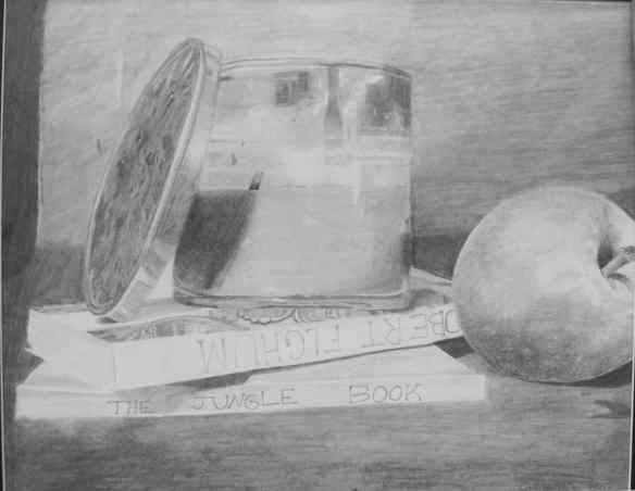 1, 14-5 drawing, Crimson Swisher, CANDLE LIT LIBRARY