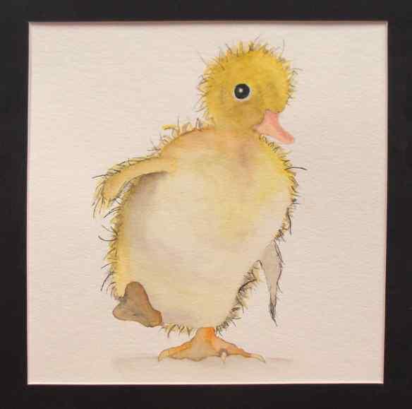 18-9 Acrylic-Oil-Watercolor, 1, Alexis Randall, Ducky Mo-Mo