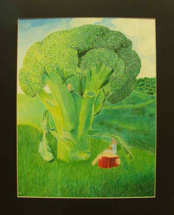 18-9 Pastel-Colored Pencil, 1, Leah Beinlich, Broctree