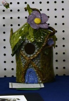 Brandi Woods Fairy Tale Bird House1st place 3D youth