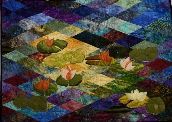 Rita Millard Water Lilies 1st place 3D